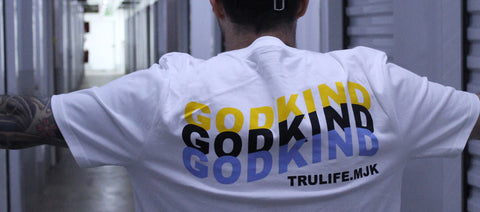 GodKind White T-shirt