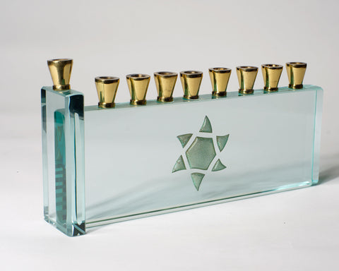 Gold Menorah