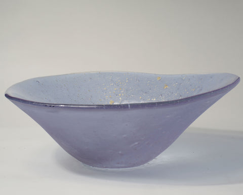 Lavender Asymetrical Bowl