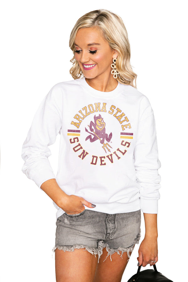 "ARIZONA STATE SUN DEVILS ""VINTAGE DAYS"" Perfect Crew Sweatshirt"