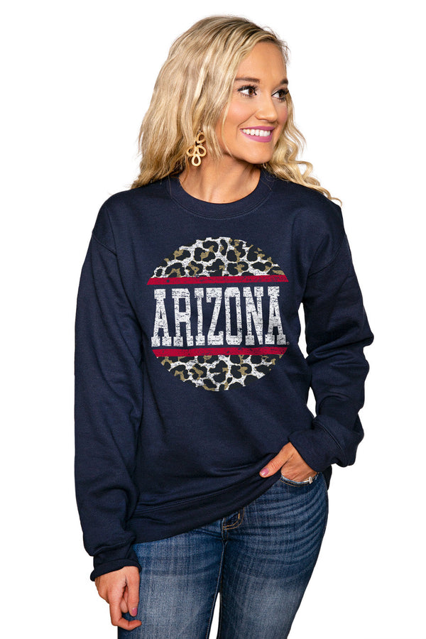 "ARIZONA WILDCATS ""SCOOP & SCORE"" Perfect Crew Sweatshirt"
