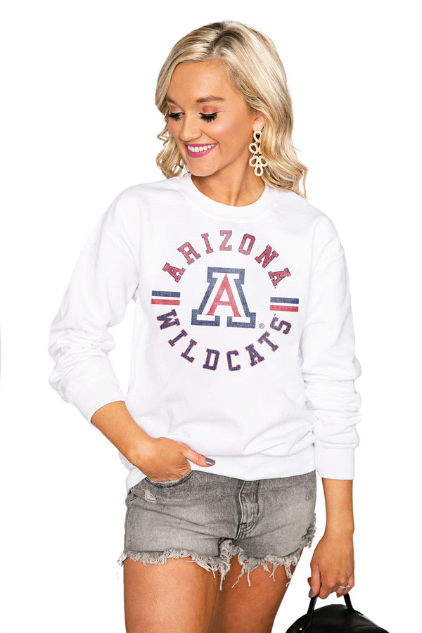 "ARIZONA WILDCATS ""VINTAGE DAYS"" Perfect Crew Sweatshirt"