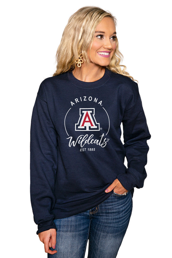 "ARIZONA WILDCATS ""FOR THE HOME TEAM"" Perfect Crew Sweatshirt"