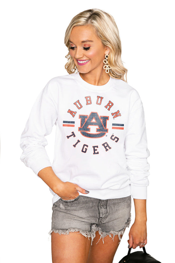 "AUBURN TIGERS ""VINTAGE DAYS"" Perfect Crew Sweatshirt"