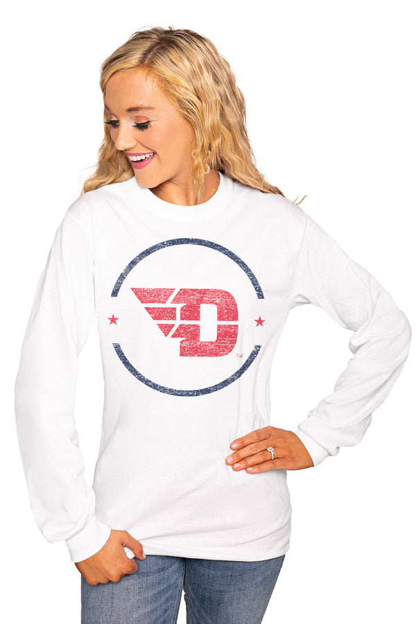 "DAYTON FLYERS ""END ZONE"" Luxe Boyfriend Crew"
