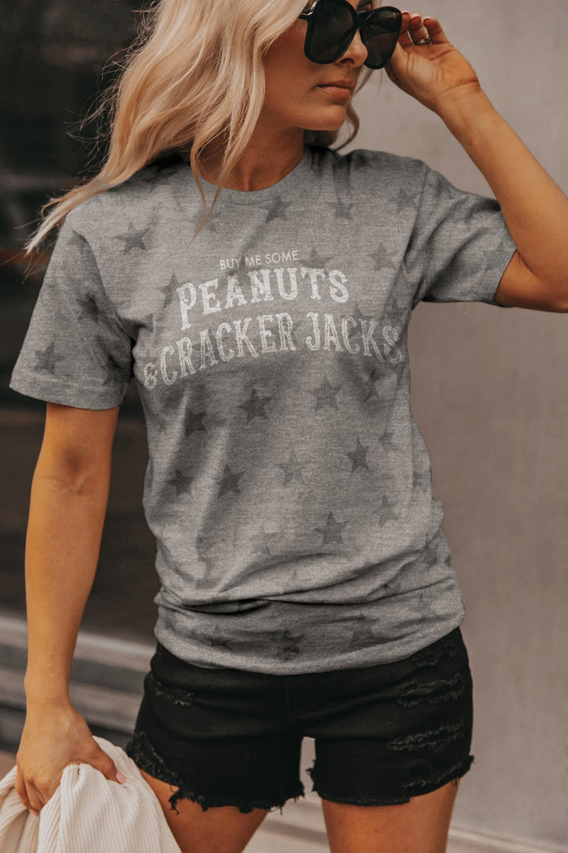 "THE ""PEANUTS & CRACKER JACKS"" Starboard Crew Lightweight Tee"