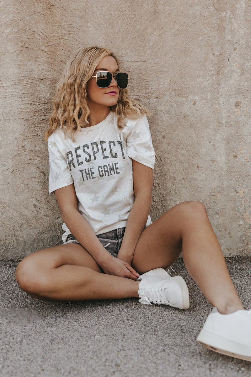 "THE ""RESPECT THE GAME"" Starboard Crew Lightweight Tee"