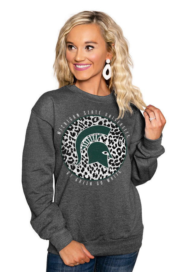 "MICHIGAN STATE SPARTANS ""CALL THE SHOTS"" Perfect Crew Sweatshirt"
