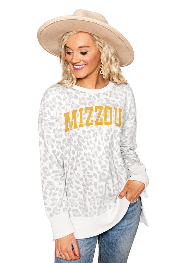 "MISSOURI TIGERS ""DAY OFF"" Crew Neck Side-Slit French Terry Pullover"