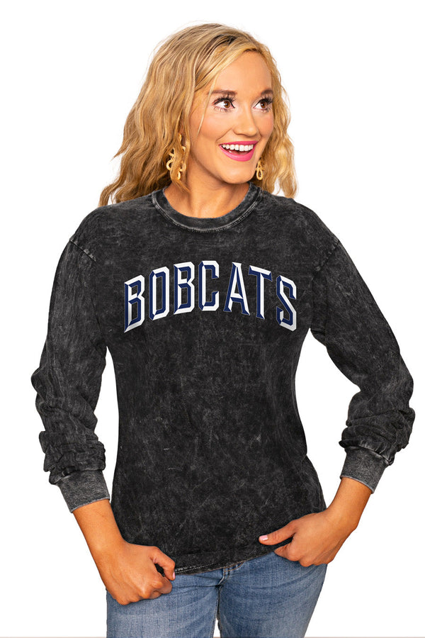 "MONTANA STATE BOBCATS ""GOOD GOING"" RETRO MINERAL WASH CREW"