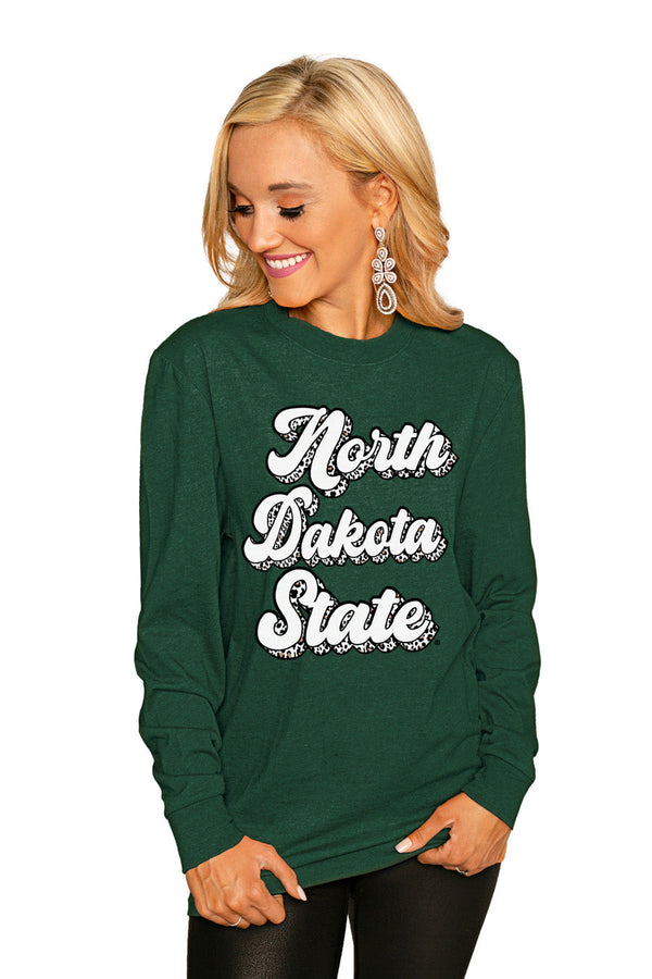 "NORTH DAKOTA STATE BISON""GAME PLAN"" Luxe Boyfriend Crew"