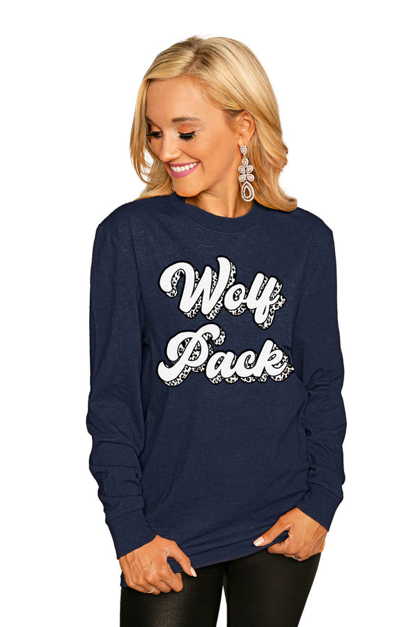 "NEVADA WOLF PACK""GAME PLAN"" Luxe Boyfriend Crew"
