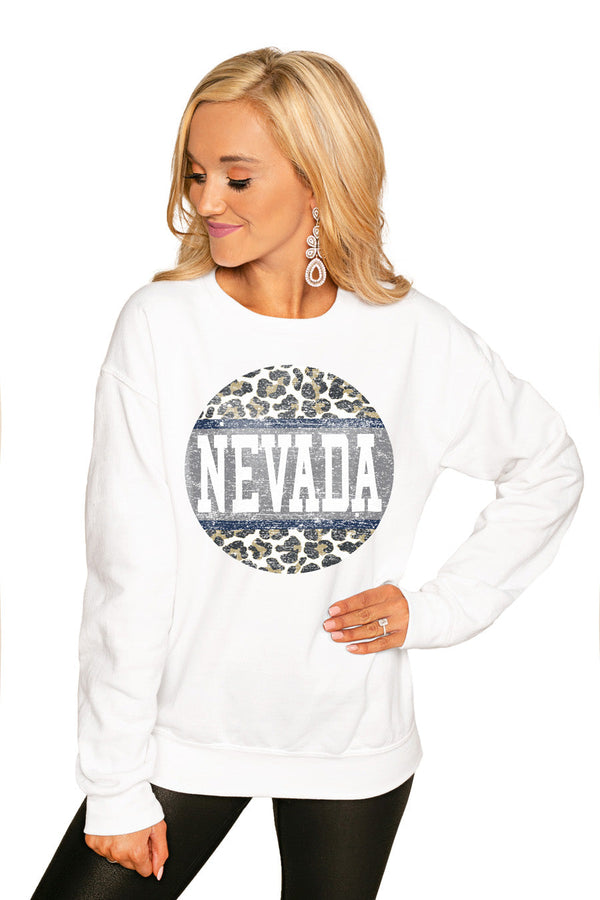 "NEVADA WOLF PACK ""SCOOP & SCORE"" PERFECT COZY CREW SWEATSHIRT"