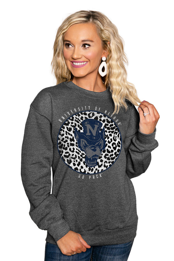 "NEVADA WOLF PACK ""CALL THE SHOTS"" Perfect Crew Sweatshirt"