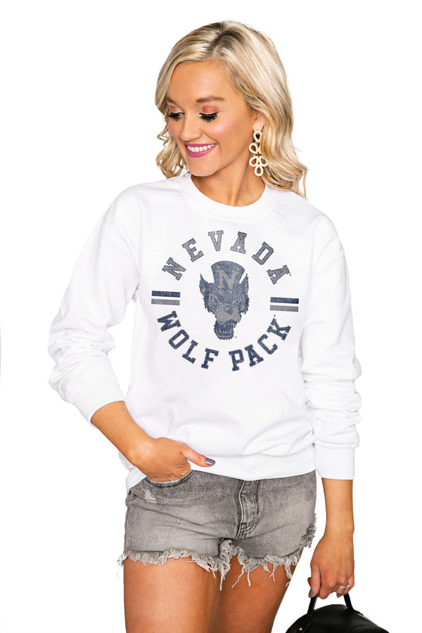 "NEVADA WOLF PACK ""VINTAGE DAYS"" Perfect Crew Sweatshirt"