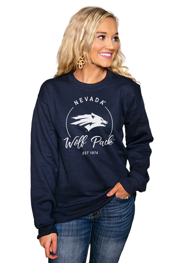 "NEVADA WOLF PACK ""FOR THE HOME TEAM"" Perfect Crew Sweatshirt"