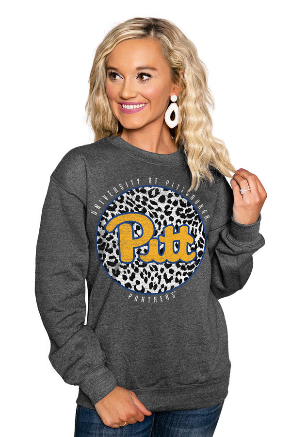 "PITTSBURGH PANTHERS ""CALL THE SHOTS"" Perfect Crew Sweatshirt"
