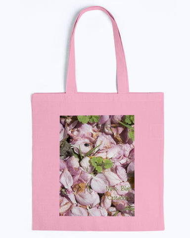 Flower Petals with a Visitor Tote