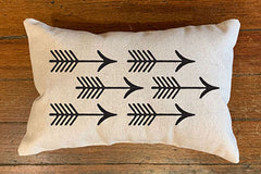 Shooting Arrow PIllows by B. Berish