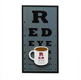 Custom Enamel Coffee Mug Pin on Custom Desgned Card For Red Eye Cafe Montclair, NJ