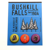 Button Card Custom Designed for Bushkill Falls Resort