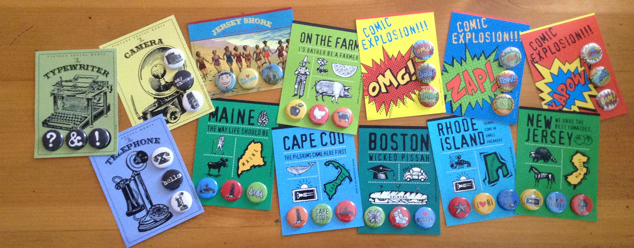 Button Card Collections by B. Berish