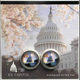 U.S. Capital Visitors Center Cuff Links