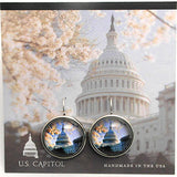 U.S. Capital Visitors Center Earrings