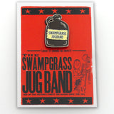 Custom Enamel Swampgrass Jug Band Pin