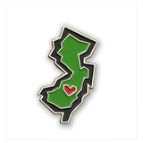New Jersey State Enamel Pin