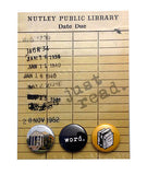 Just Read Library Button Card