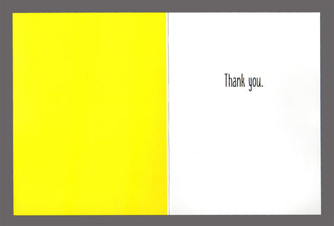It doesn't get any better this...and then it does - Special Friendship Card, Thank You Card, Sold In a  5 Pack