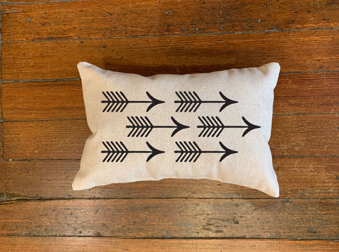 Shooting Arrows Pillow
