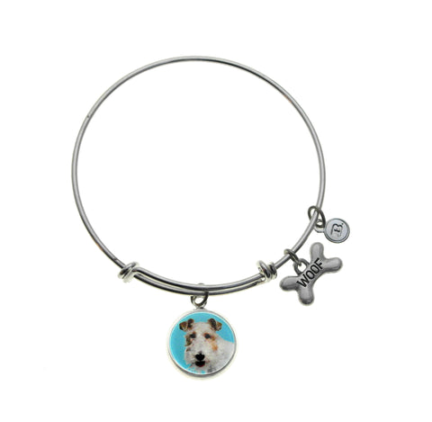 Wire Fox Terrier Bracelet