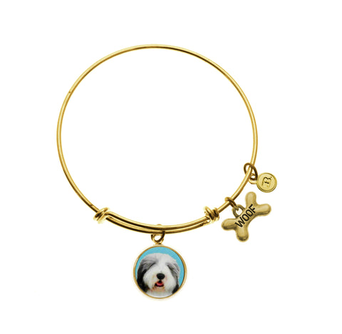 Bearded Collie Bracelet