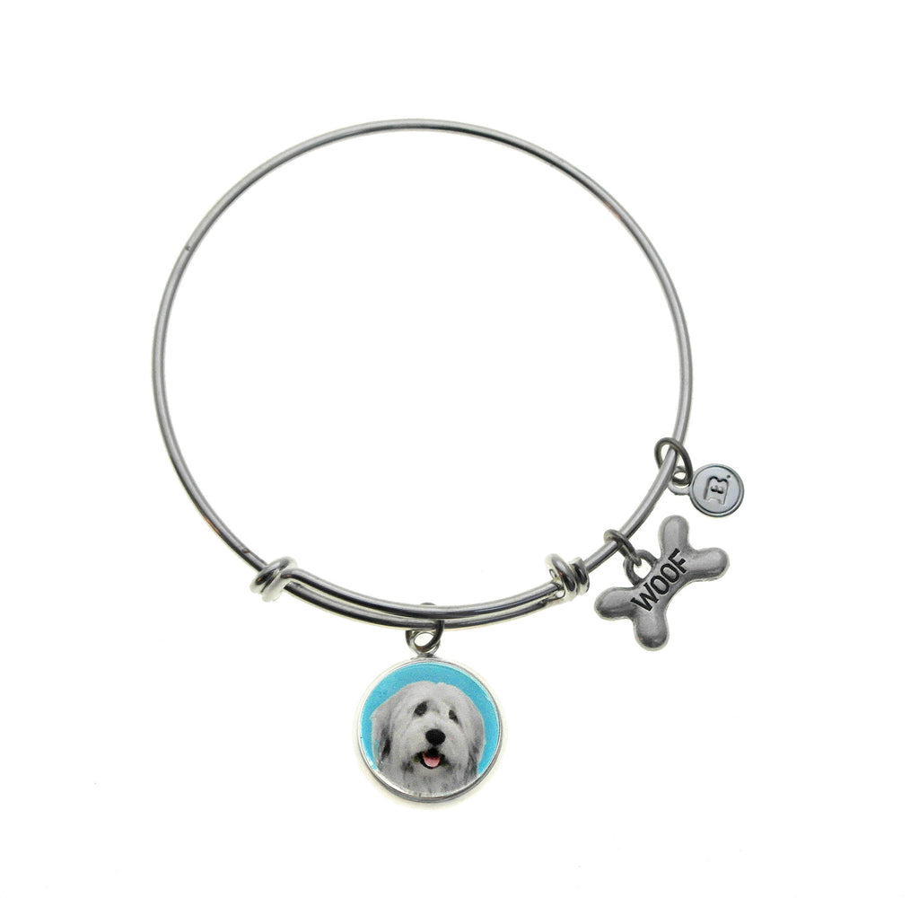 Old English Sheep Dog Bracelet