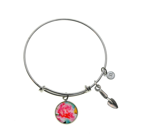 A Peony For Your Thoughts Bracelet and Necklace