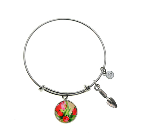 A Spring Favorite Tulips Bracelet and Necklace