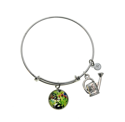 A Colorful Succulent Bracelet and Necklace