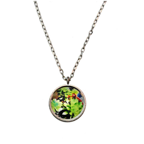 A Colorful Succulent Necklace