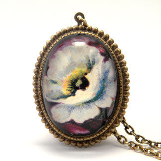 Nature Adorned- White Flower Jewelry