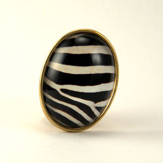 The White Stripes Zebra Brooch