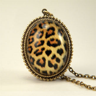 Leopard Print - Seeing Spots Big Cat African Necklace
