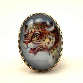 Def Leopard- Adjustable Cocktail Ring