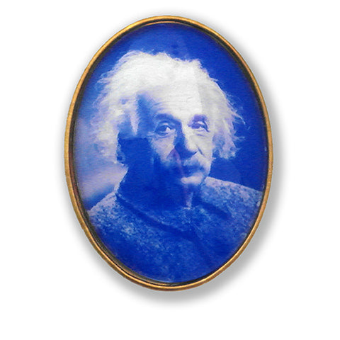 Albert Einstein Brooch