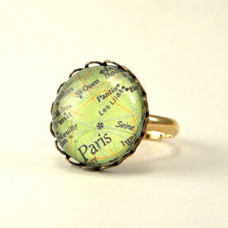 Paris Map Petite Ring