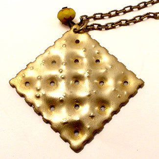 Sassy Is The Saltine Necklace