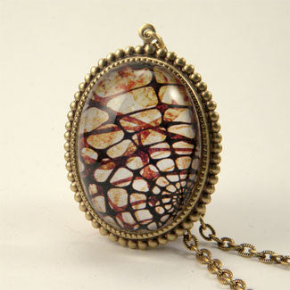 Spider Web Deluxe Necklace