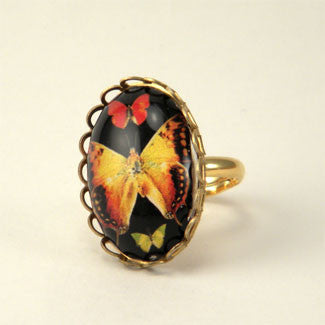Aphrodite Butterfly Petite Ring