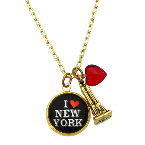 A Love Heart for New York Necklace